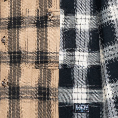 Rokit Collide Flannel - Black