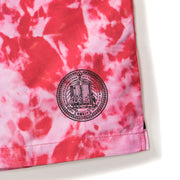 Rokit Central Shorts - Tie Dye Red