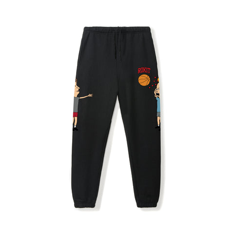 Beavis & Butt-head Squad Sweatpants - Black