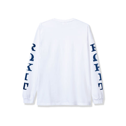 Dedication LS Tee - White
