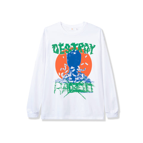 Rokit Justice LS Tee - White