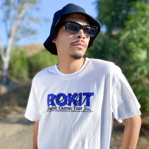 ROKIT Exhibition SS Tee - White