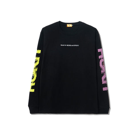 ROKIT Ripple LS Tee - Black