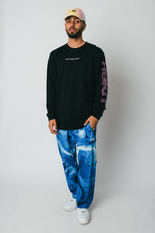 Ripple LS Tee - Black