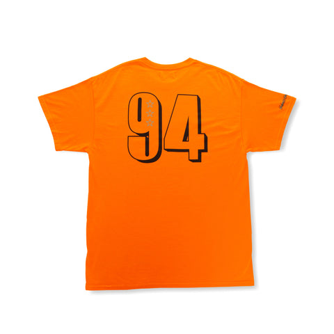 Rokit Lockup SS Tee - Orange