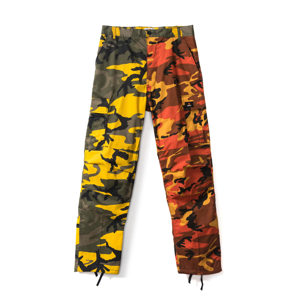 TROOPER Pants - Orange/Yellow