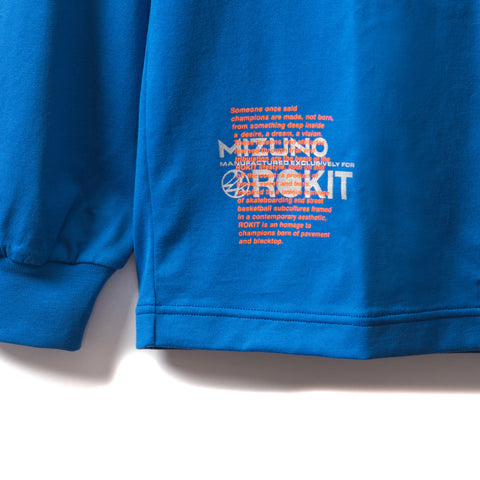 Rokit City High Long Sleeve Shirt - Blue