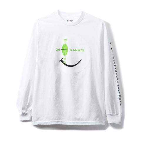 Rokit Intro Long Sleeve Shirt - White