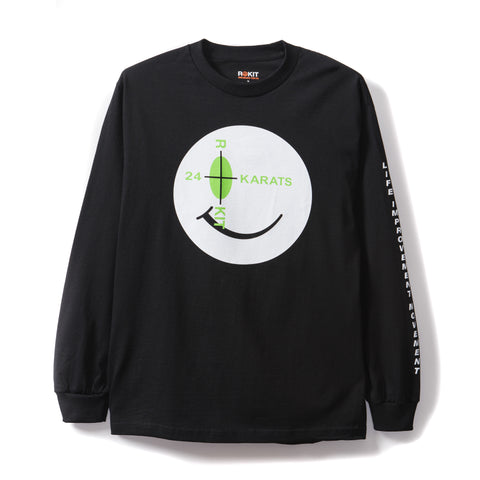 Rokit Intro Long Sleeve Shirt - Black