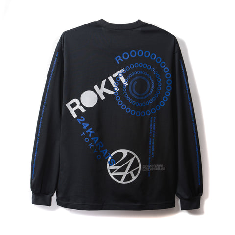 Rokit City High Long Sleeve Shirt - Black