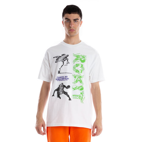 ROKIT Subscription SS Tee - White