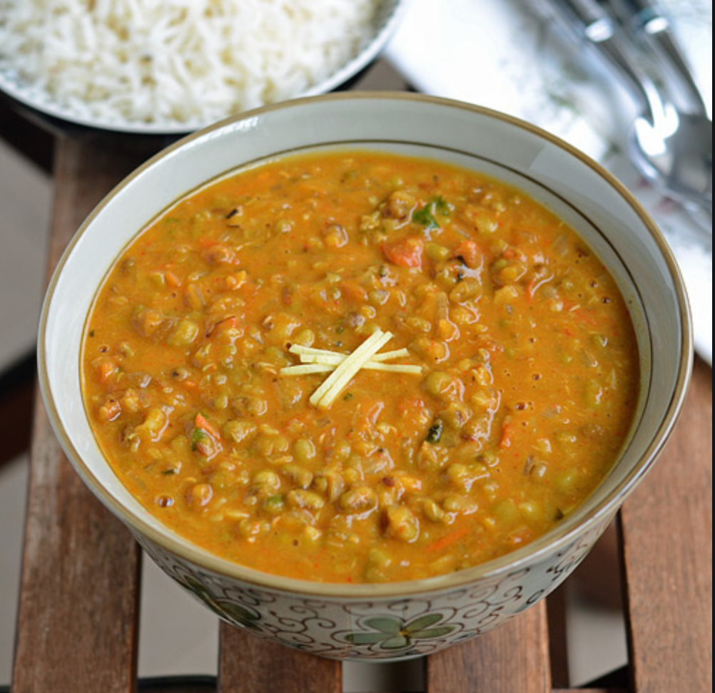 Moong Dahl Curry