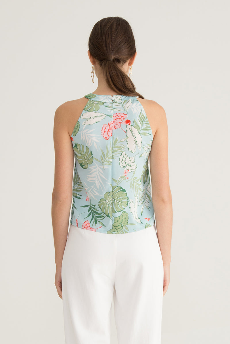 Brella Tropical Printed Top