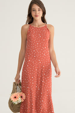Herny Printed Maxi Dress