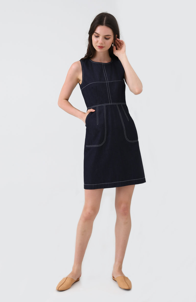 Ami Pocket Dress