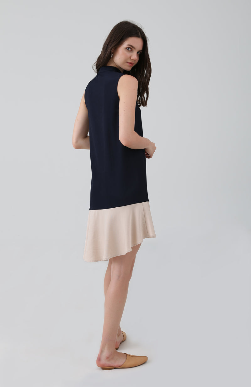 Fira Dropwaist Ruffle Dress