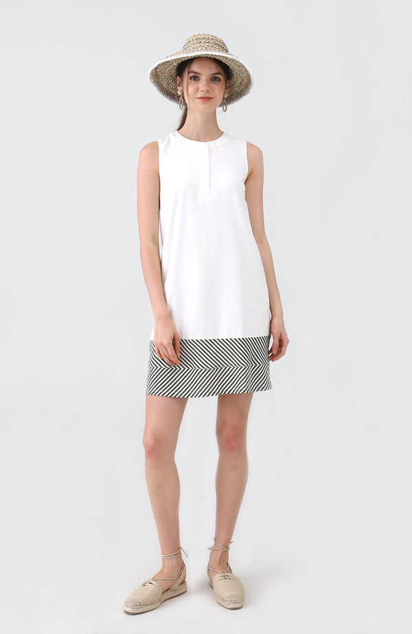 Natasa Mono Shift Dress