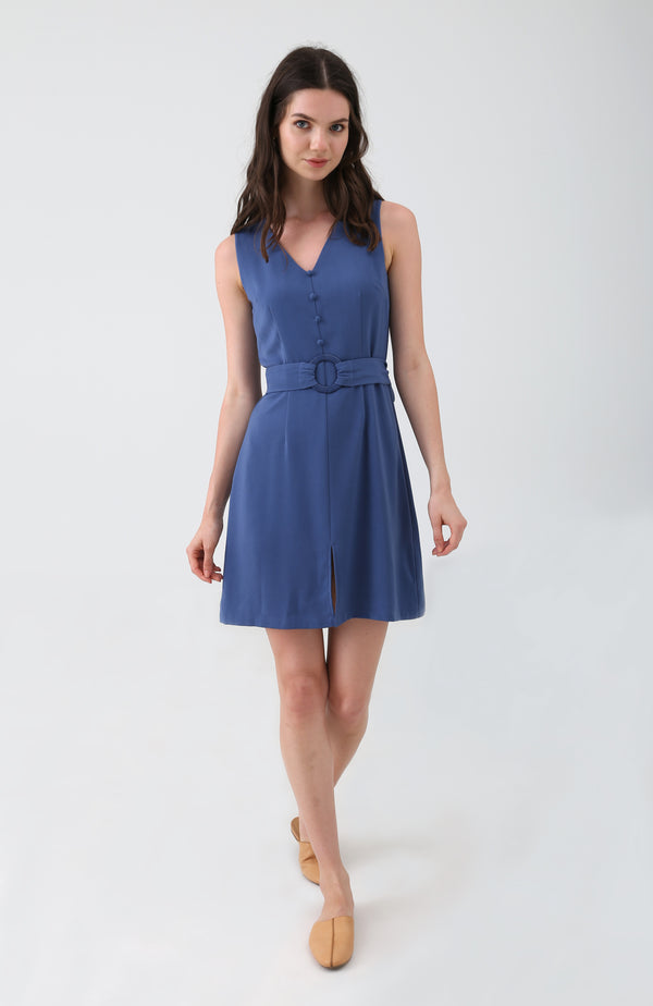 Leioa Buttoned Dress