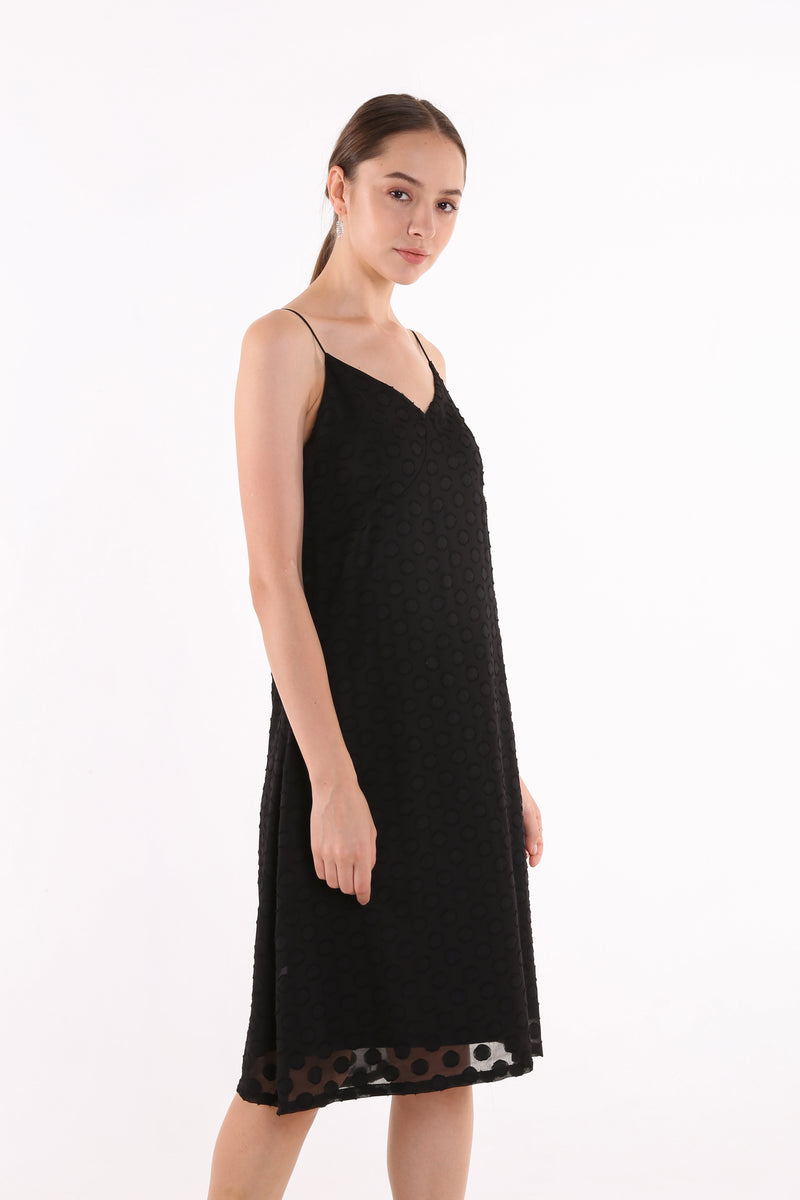 Mirsila Textured Slip Dress