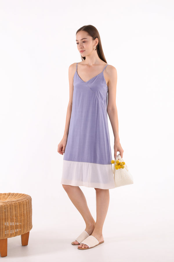Lenka Two-toned Midi Dress