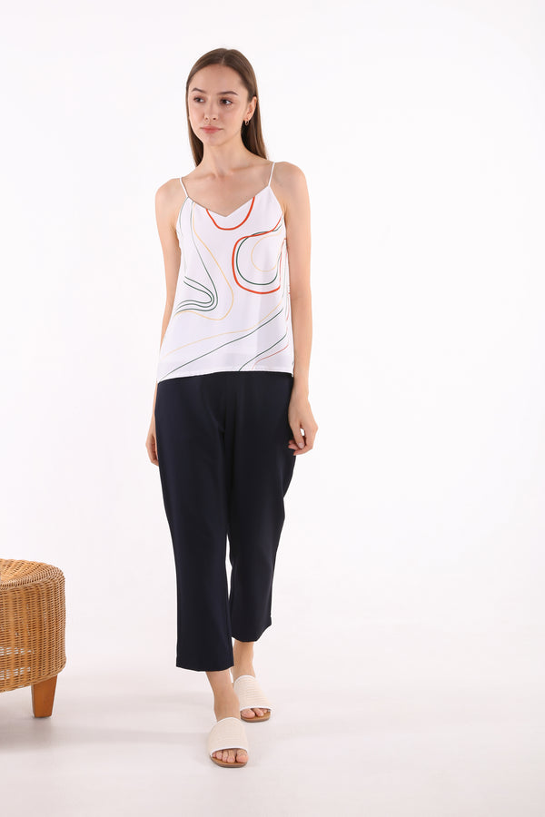 Andien Abstract Printed Cami