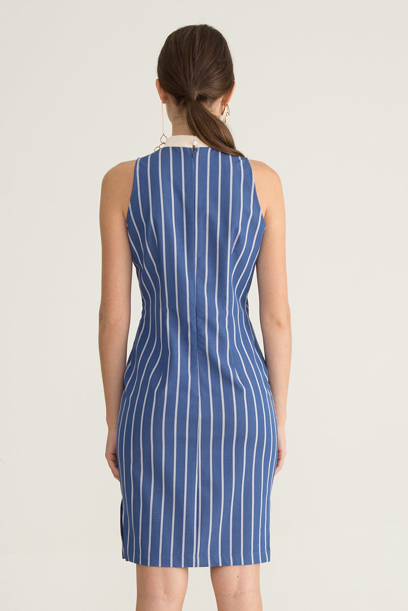 Willa Striped Printed Dress