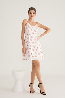 Minny Floral Strap Dress