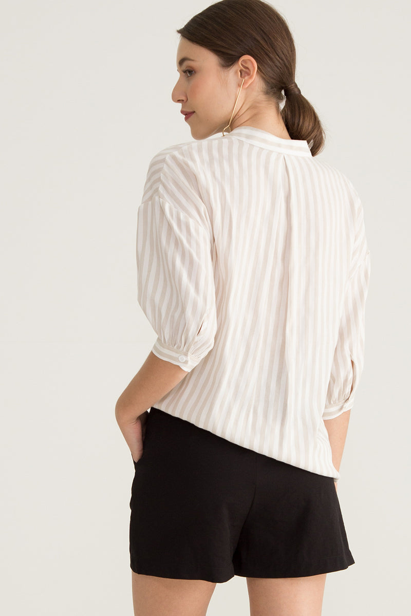 Quella Striped Buttoned Down Shirt