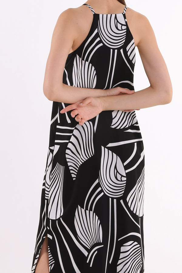Chelsea Printed Maxi Slip Dress