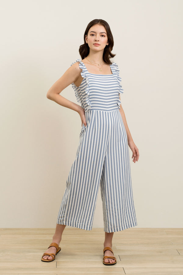 Hailey Striped Jumpsuit