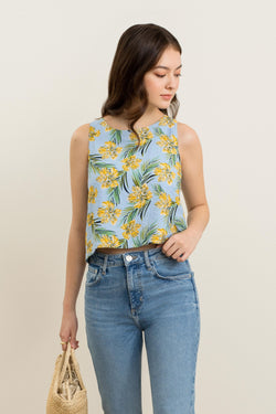 Sophia Printed Top
