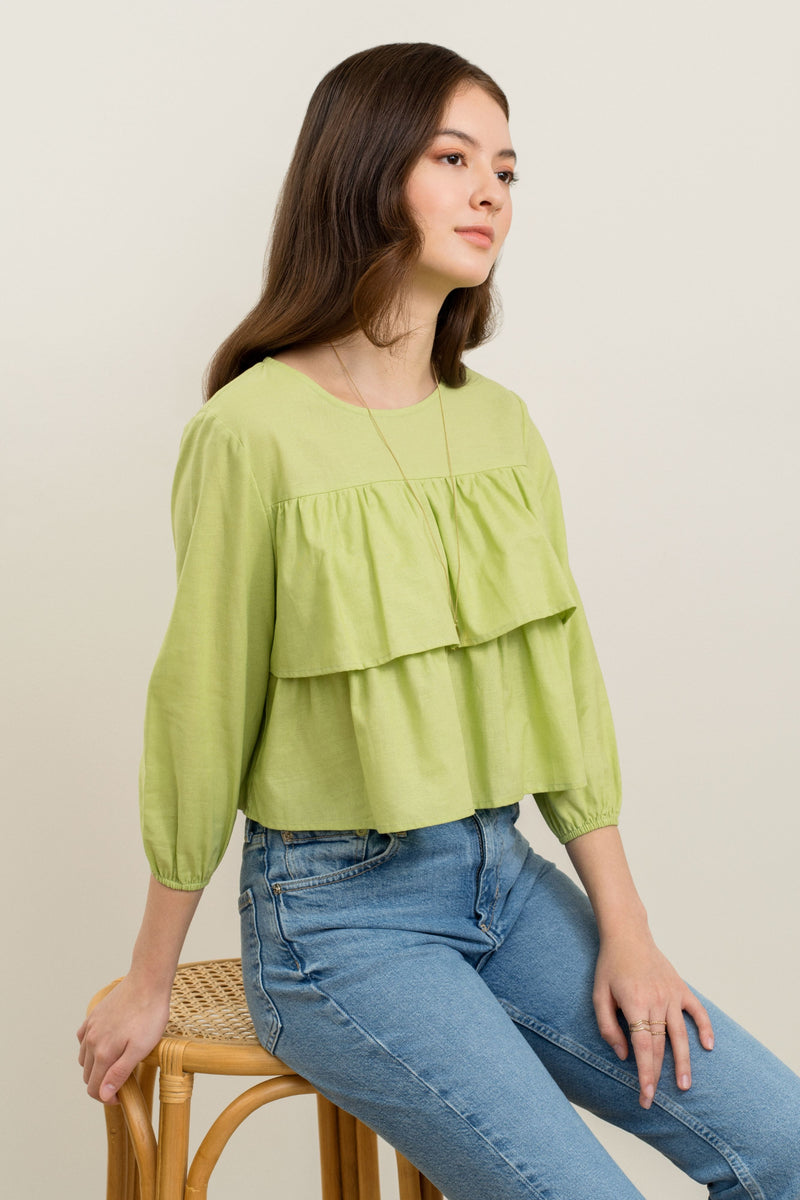 Danni Layered Ruffles Top