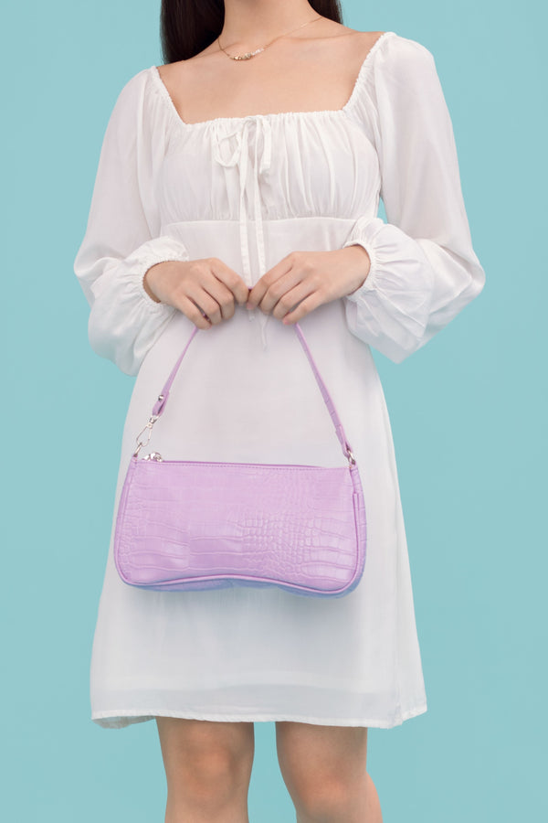 [PRE ORDER] Faith Shoulder Bag in Purple
