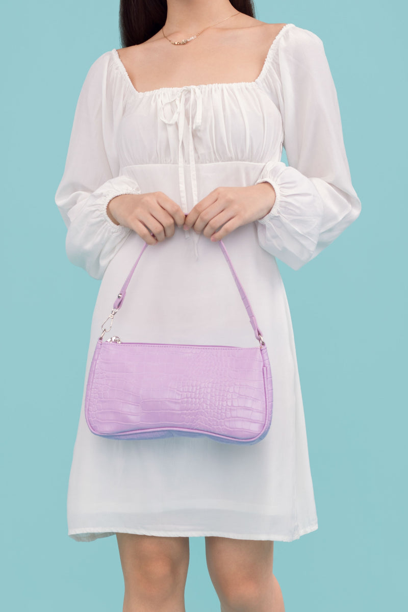 [Online Exclusive] Faith Shoulder Bag in Purple