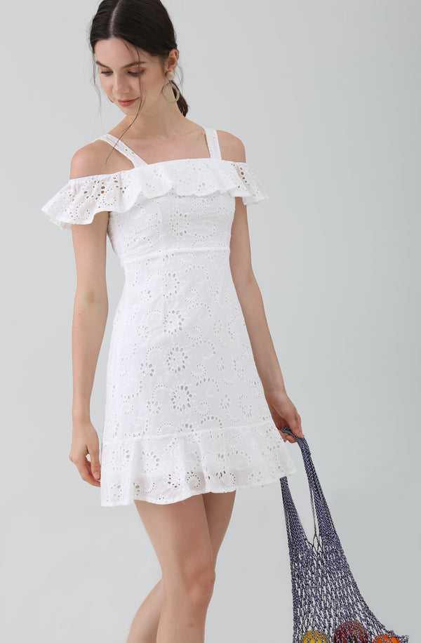 Dorinda Broderie Anglaise Dress