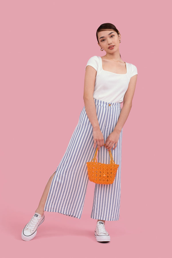 Cady Striped Culottes