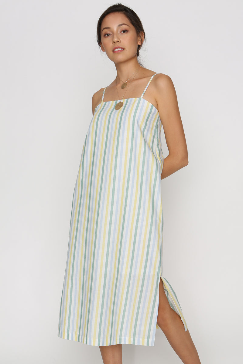 Erin Pastel Striped Dress