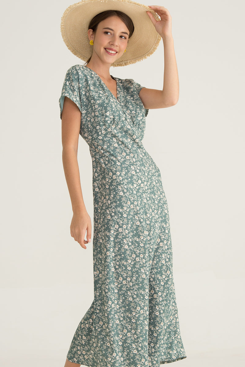 Lorinka Printed Maxi Dress