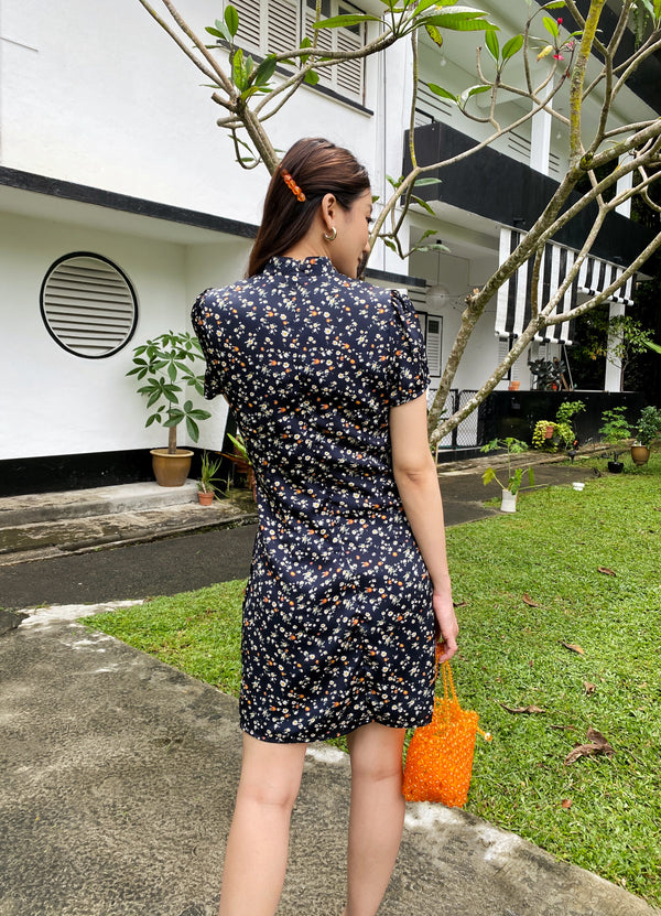 [Online Exclusive] Patricia Printed Cheongsam