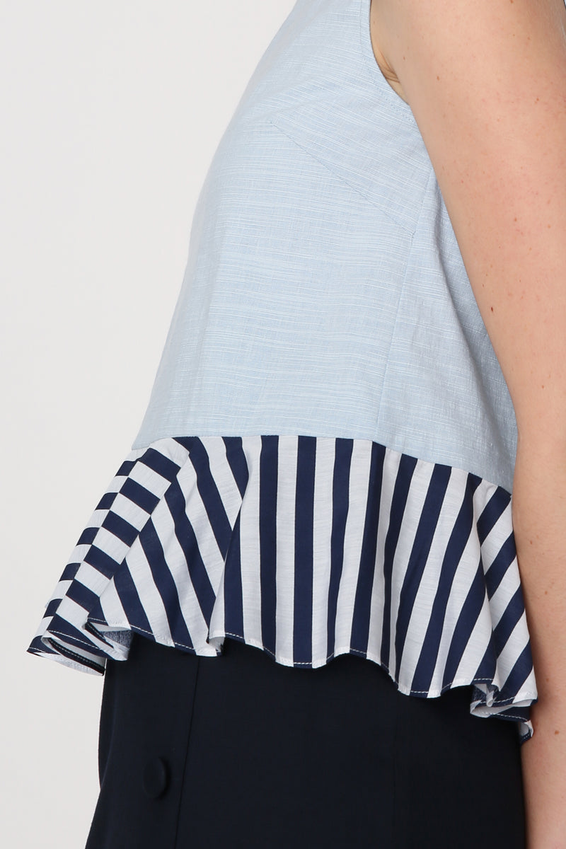 Jamie Layered Hem Top
