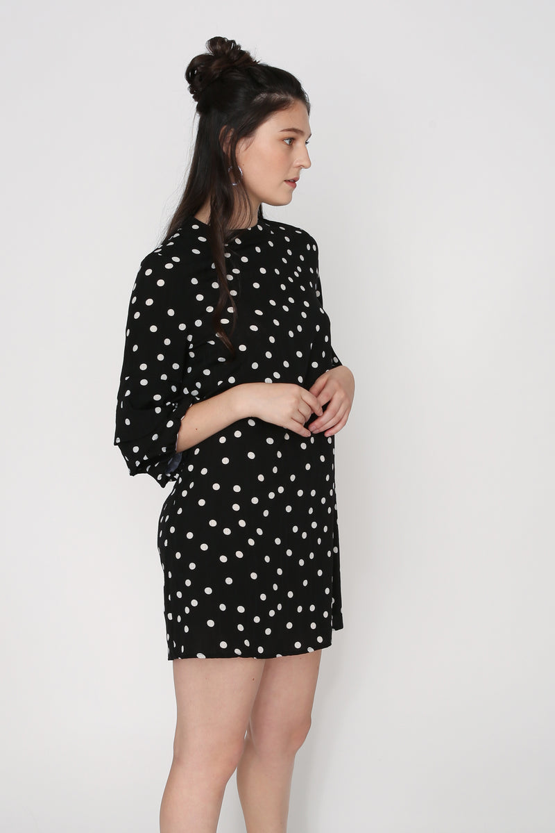 Joanna Layered Sleeve Shift Dress
