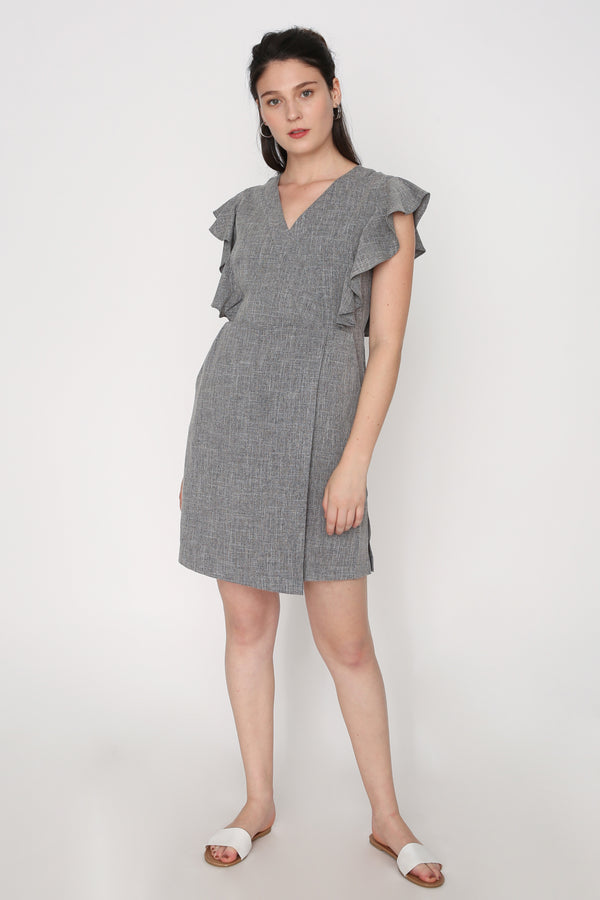 Kimberly Overlap Dress