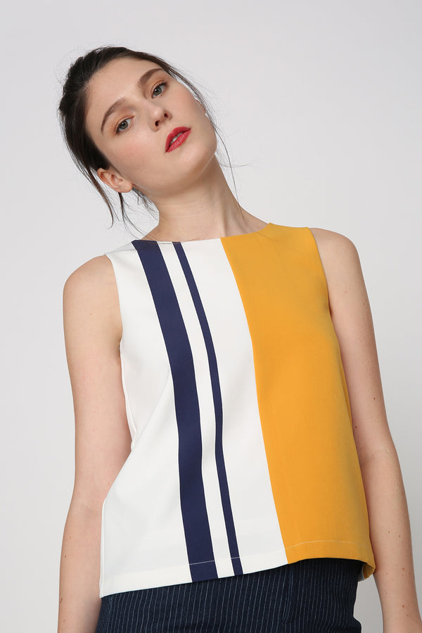 Layla Colour Block Top