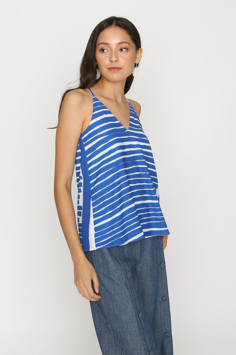 Mylie Printed Strappy Tank