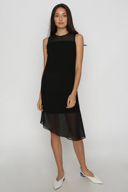 Nico Organza Hem Dress