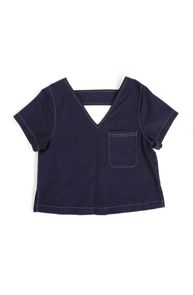 Galilia Front Pocket Top
