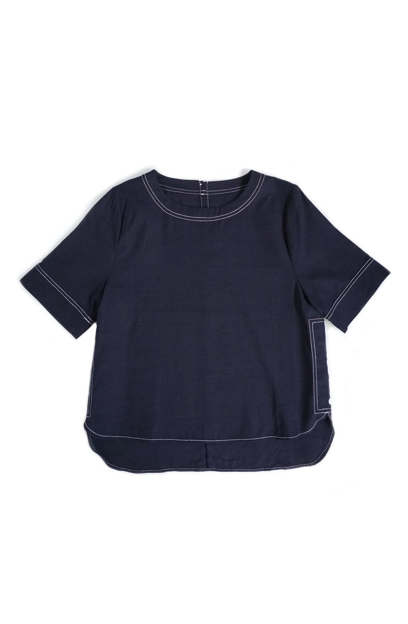 Elya Side Button Top