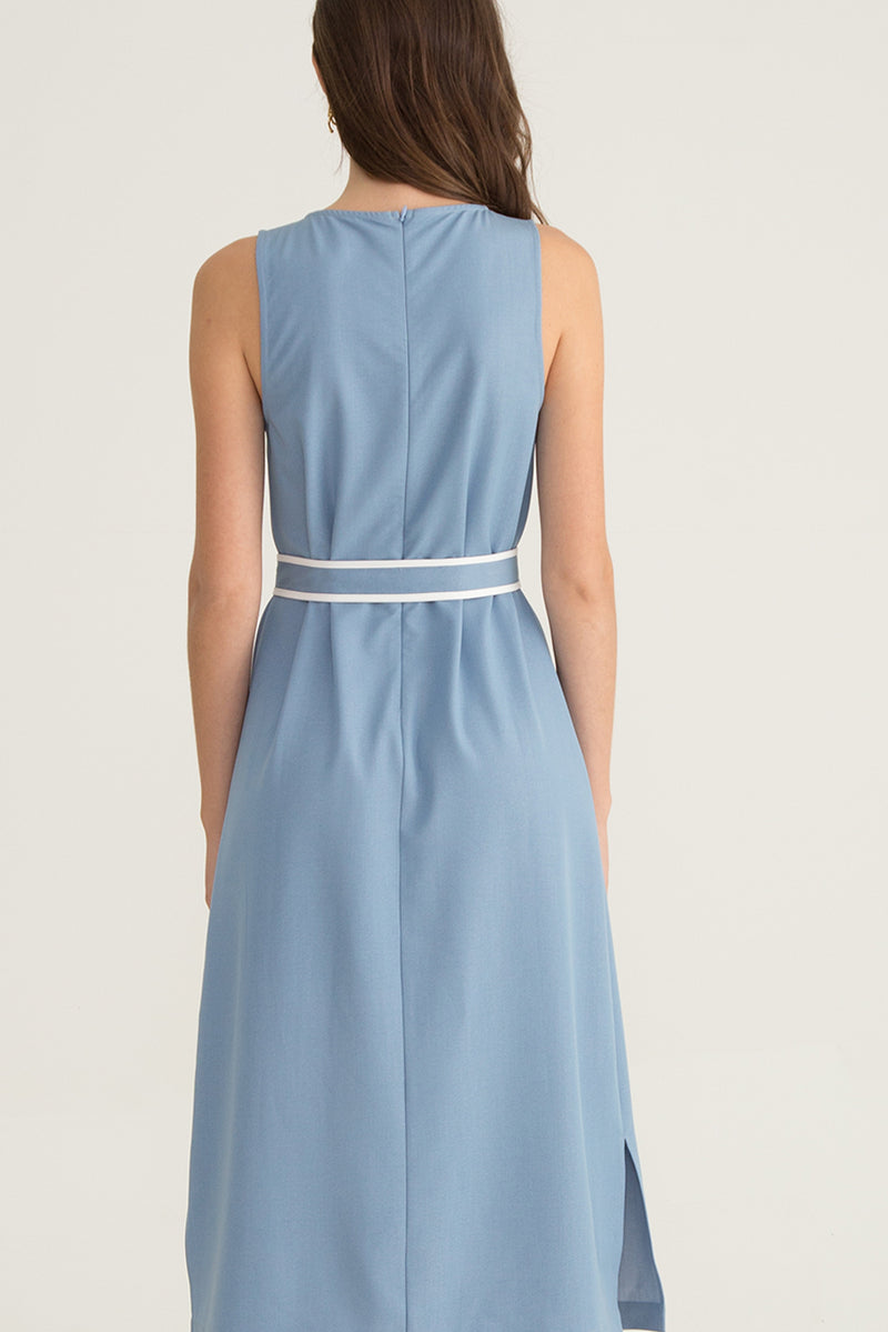 Alma Belted Dress