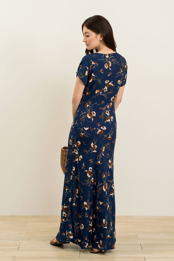 Becca Printed Maxi Dress