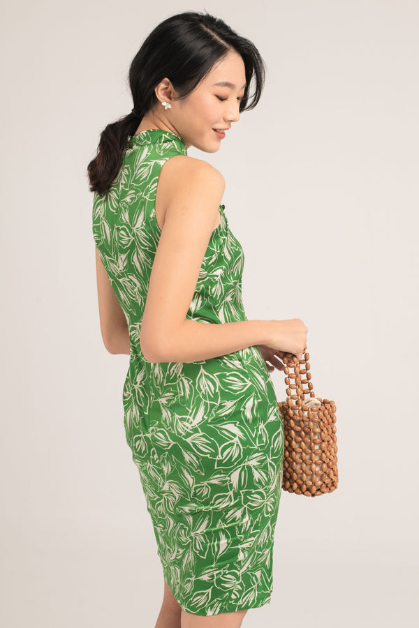 [Online Exclusive] Chavela Printed Cheongsam